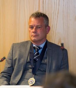 Deputy Mayor of Ruthin, Ian Lewney - DJW150517